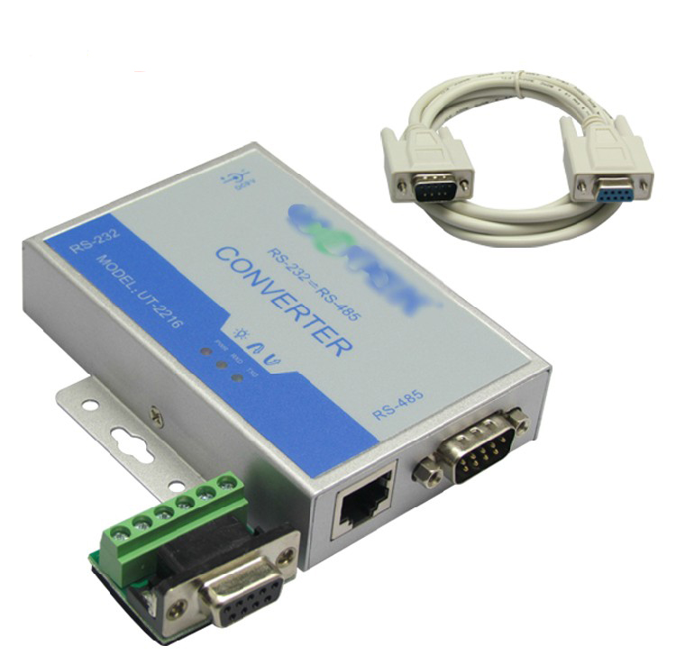 Free shipping Lightning protection RS232 toRS485 Active converter UT-2216 1.2KM<br>