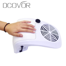 40W Nail Art Salon Suction Dust Collector Filing Acrylic UV Gel Tip Machine Nail Dryer Vacuum Cleaner Salon Tool EU Plug(China)