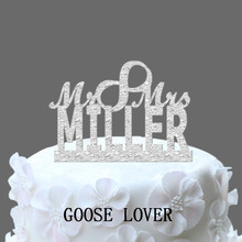 Vintage Cake Topper, Personalized Name Wedding Cake Topper, Monogram Cake Topper, With Infinity Symbol Mr And Mrs