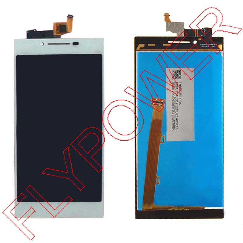 For Lenovo P70 Display LCD Screen with Touch Screen Digitizer Assembly white color free shipping<br><br>Aliexpress