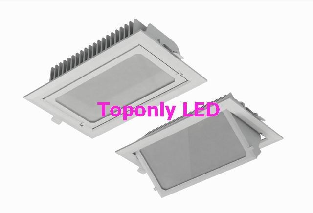 square downlights led 30w,ac100-240v,3000lm white,can rotate 45degree,2015 new design directly to replace traditional downlight<br><br>Aliexpress