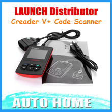 5PCS/Lot! 100% Original Launch Creader V+ OBD2 code scanner update online CReader V Plus Support Multi-Language