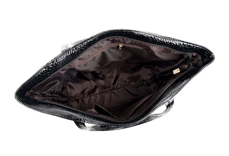 Brand Fashion Casual Women Shoulder Bags Silver Gold Black Crocodile Handbag PU Leather Female Big Tote Bag Ladies Hand Bags Sac 15