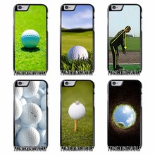 Play Golf ball Cover Case For Iphone 4 4s 5 5c 5s se 6 6s 7 8 plus x xiaomi redmi note oneplus 3 3T 4X 3s(China)