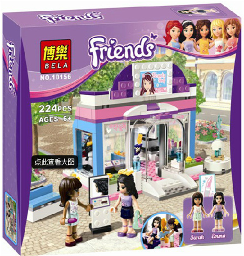 Friends Butterfly Beauty Shop Building Block Sets Original Bela 10156 girls Toys Bricks Compatible with lwpin free shipping S232<br><br>Aliexpress