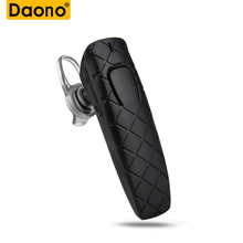 Buy DAONO invisible mini earphone business bluetooth headphone wireless headset noise canceling earbud Mic phone calls for $2.39 in AliExpress store