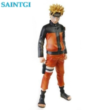 SAINTGI 24CM Action Figure Toys Naruto 1/8 scale painted figure Uzumaki Naruto figure Garage Kits Dolls Brinquedos Anime