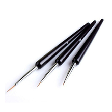 Best Deal New Good Quality Women Lady 3Pcs Dotting Painting Drawing UV Gel Liner Polish Brush Tool Nail Art Pen 1Set WD340 P45(China)