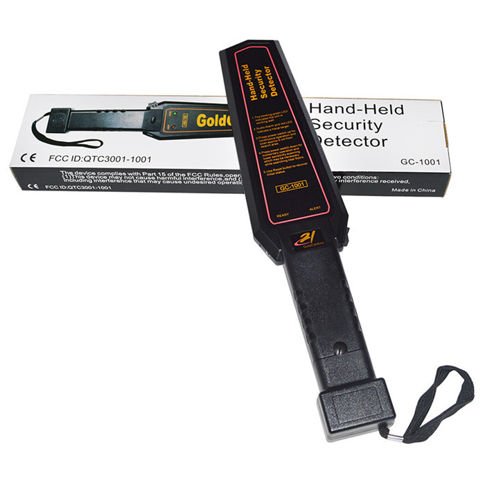 NEW Arrived Hand Held Security Wand airport metal detector detectors GC-1001<br>