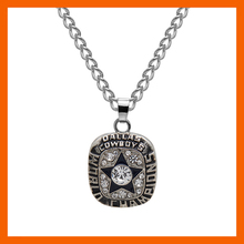 NEW DESIGN 1971 DALLAS COWBOY AMERICA FOOTBALL CHAMPIONSHIP NECKLACE MEN JEWELRY FANS COLLECTIONS