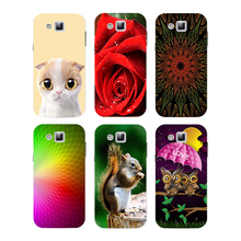 Case For Samsung Galaxy Young Duos S6310 S6312 S6313 Cover Flower Plants Original Hard Plastic Printed Cat Owl Animal Phone Case