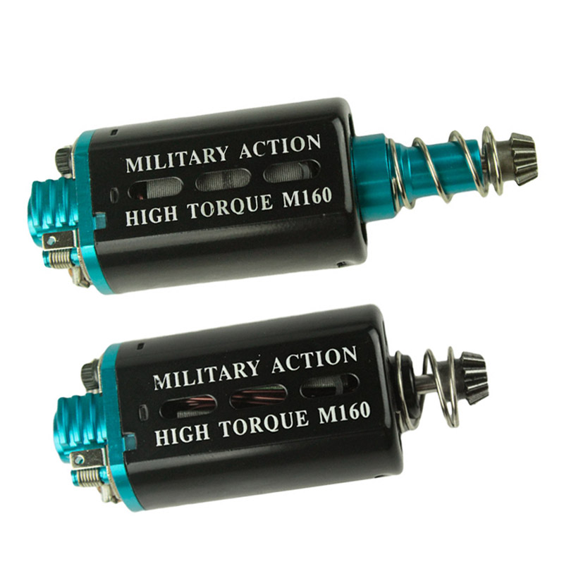 New M160 High Torque Heat dissipation Type  AEG Motor Long/Short Axis for Airsoft AK M16/M4/MP5/G3/P90 AEG Hunting Accessories<br>