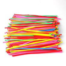 100pcs Latex 260Q Magic Balloons Twisty Modeling Balloons (Mixed Color)