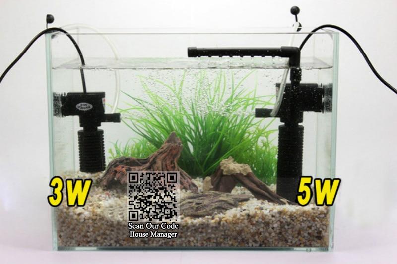 Schwimmender Mini Garten Filter