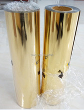 CDN-02 gold color metallic material 2016 best quality heat transfer film  for team DIY colothes