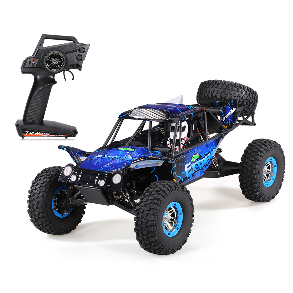 Cool Remote Control Climbing Car SUV 10428-B2 110 2.4G 4WD Electronic Rock Crawler Off-Road Buggy Desert Baja RC Cars RTR (13)