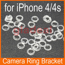 100pcs/Lot Front Camera Sensor Plastic Holder Clip Ring Bracket Repair Parts Replacement For iPhone 4/4S(China)