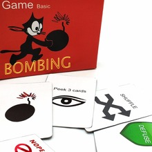 2018 kittens game Basic, Not safe edition card game, expansion for home party family fun board game(China)