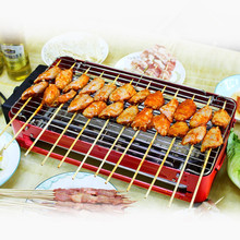 220V 2000W Electric BBQ Grill Non-stick And Smokeless Multifunctional Grill Pan For Family Party(China)