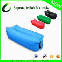 2017 Hot sale Portable Lounger Air bag sleeping Sofa with 210T Nylon fabric for outdoor camping hangout couch air chair