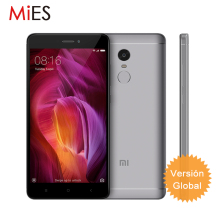 Global Version Xiaomi Redmi Note 4 International Edition Mobile Phone Snapdragon625 Octa Core 3GB RAM 32GB ROM CE Support B8 B20