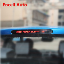 Car Stickers Special For Suzuki Swift Dedicated High Brake Lights Car Stickers 3D Carbon Fiber Material Car Brake Light Stickers