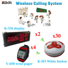 wireless calling system restaurant hotel cofe bar guest pager system with wholesales price