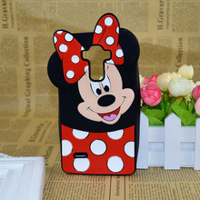 Hot 3D Cartoon Mickey Minnie Mouse Soft Silicone Case Cover For LG G4 Stylus H540 H542 H631 H635 Free Shipping capa funda hood(China)