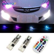 For Hyundai Solaris Accent I30 IX35 Elantra Santa Fe Getz Tucson I20 Sonata Coupe I40 I10 Car LED Clearance Lights Parking Light(China)