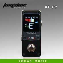Electric Guitar Effect Pedal tuner /Aroma Tuner AT-07 small and compact design chromatic free shipping(China)