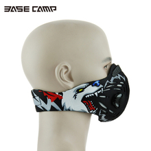 Basecamp Cycling Face mask Bike sport Mask Activated carbon Half Face mask Dustproof Anti-Pollution windproof(China)