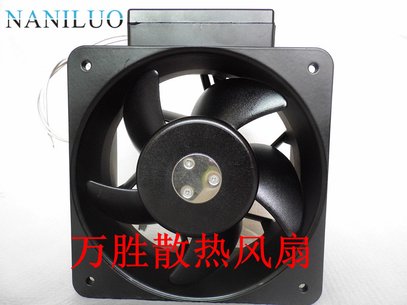 NANILUO  MRS18-DUL AC 220-230V 50/60(Hz) 2-wire 140mm 180x180x90mm Server Square cooling fan