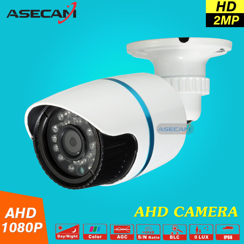 New Arrival 2MP IMX322 Mini HD CCTV Camera Outdoor White Small Metal Bullet 1920*1080P Security AHD Surveillance<br>
