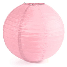 "1 x Chinese Japanese Paper Lantern Lampshade for Party Wedding, 40cm(16"") Pink"