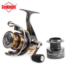 Brand  Spool Super Light &Carbon Fiber  LegDR2000/3000/4000 Real 11BB Spinning Fishing Reel With Plastic Spare Spool