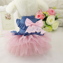 Pet Chihuahua Princess Wedding Dress Fashion Small Dog Party Dress Apparel Cat Puppy Dogs Clothes Yorkie Costume in Spring Summe