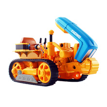 KAIDIWEI Tractor model alloy track agricultural farm machinery car wheeled truck toy ornaments