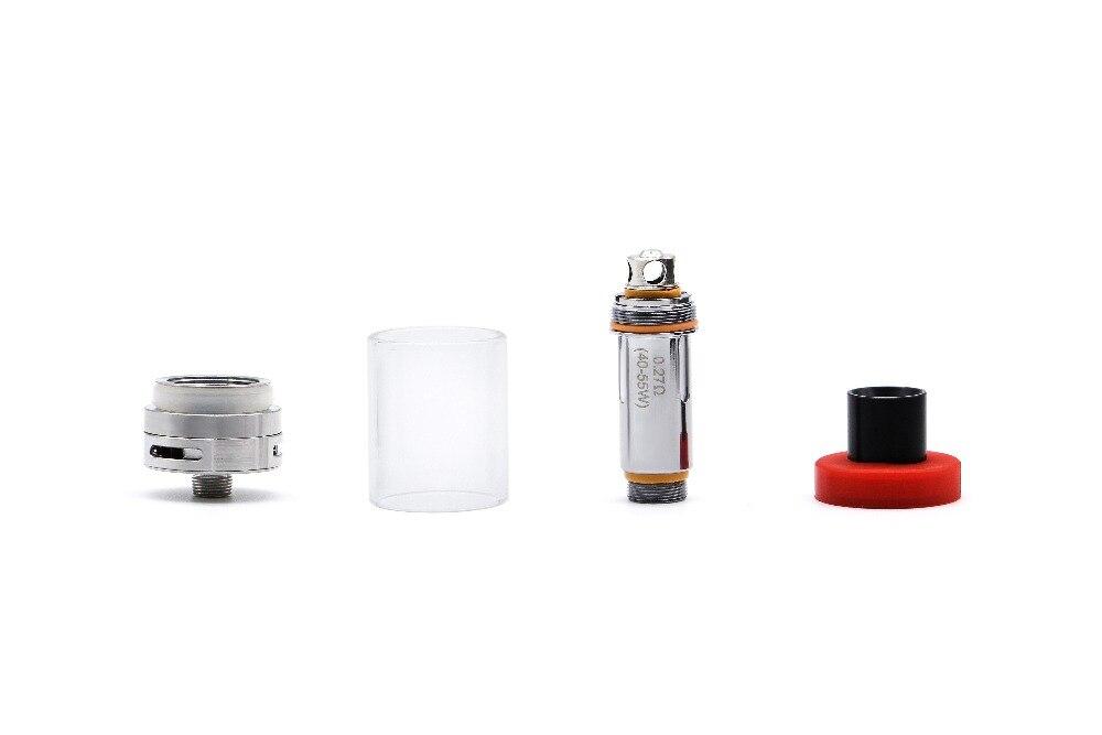 Aspire K4 Quick Start Kit-2000mah battery 3.5 ml e-juice capacity 0.27 ohm cleito coils standard 510 connection