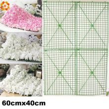 60x40cm large size plastic flower row flowers bent sub-rack wedding flower supplies flower wall Arches for wedding decoration
