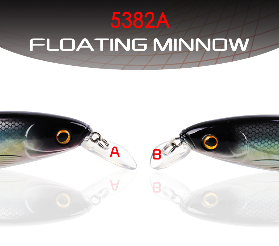 Kingdom Sea Fishing Lures Minnow 14cm 40g Quality Professional Hard stick baits fishing tackle artificial lure model 5382 (1)