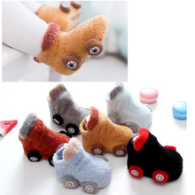 New autumn/winter cartoon car baby socks non-slip glue baby's toddler socks warm socks(China)