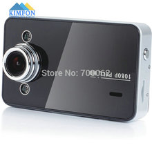 "Free DHL Fedex 20pcs/lot K6000 Car Camera FHD 1080P 2.5"" TFT Screen With G-sensor Registrator Car DVR"