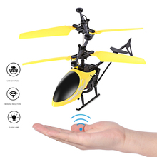 Fun RC Helicopter Toy Induction Flying Drone With Shinning LED Lighting Remote Control Dron for Kids Toys Gift VS Syma W25 S107G