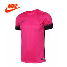 Intersport Original New Arrival Official NIKE Football/Soccer Men's T-shirts short sleeve Sportswear(China)