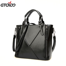 Women leather handbags women bag the new spring and summer bags manufacturers wax leather fashion bags Handbag(China)