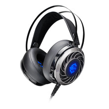 Wholesale GS915 stereo bass led light computer gaming headset audifonos game headphone with microphone for laptop ps4 gamer