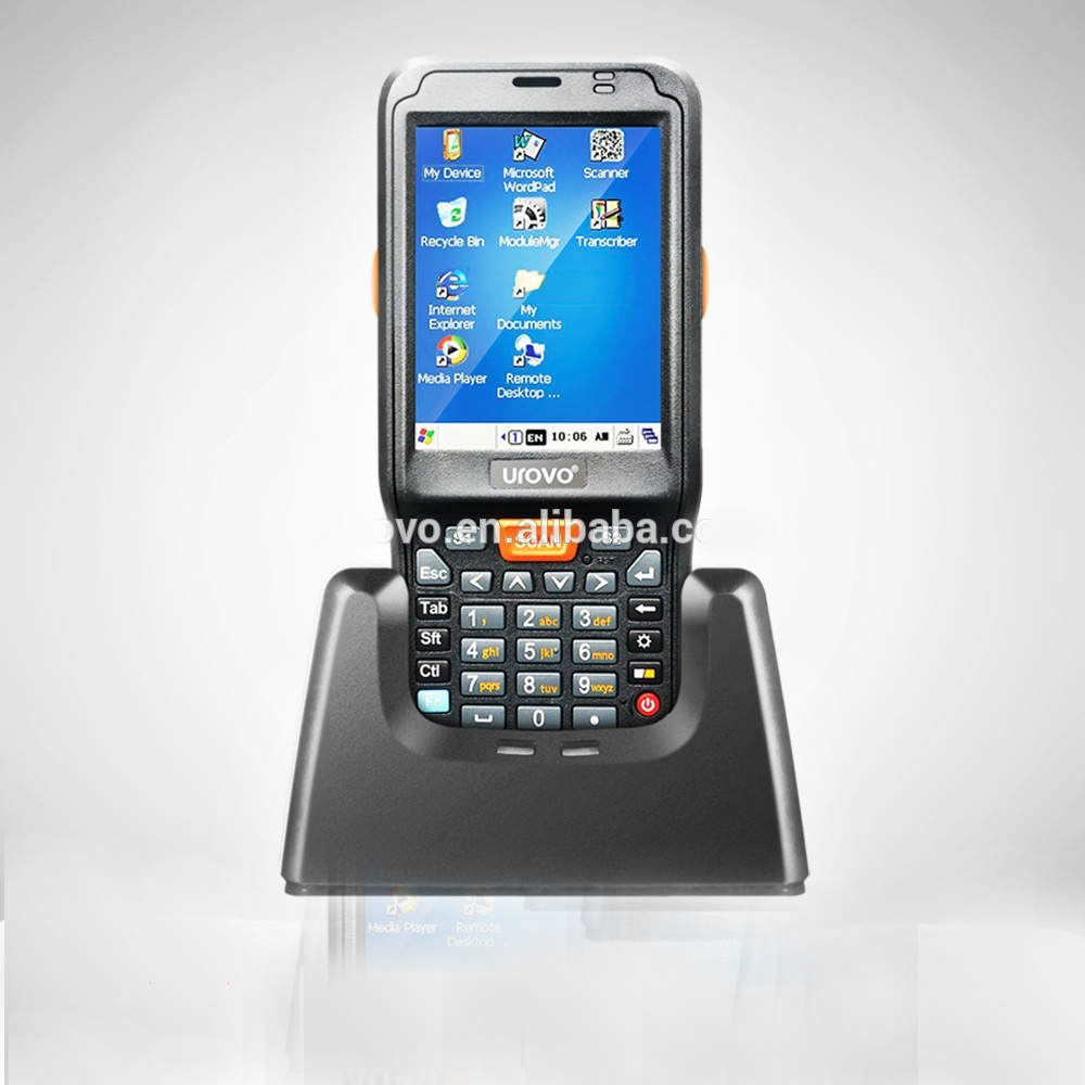 mobile 2d bar code reader,portable scanner,qr code barcode scanner,Urovo i6100s-CE Data terminal 1xs