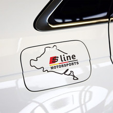 2017 NEW S line Sline Logo Sticker Audi A3 A4 A5 A6 Q3 Q5 Q7 B7 B8 Gas Fuel Tank Cap Cover Window Bumper Glass Door Stickers - car buy Store store