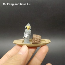 China Culture Li Po Poet On The Boat Model Toy Kid Perceive Learning Game(China)