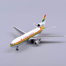 1/500 Scale Airplanes Model Toys GHANA Airways Douglas Dc-10 Aircraft Airliner Model Gifts Collection
